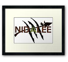 Nidalee Framed Print