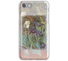 Irises Van Gogh Detail iPhone Case/Skin