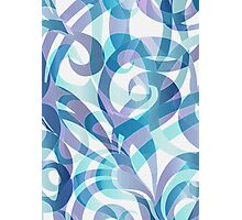 Floral abstract background Photographic Print