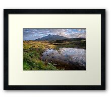 Sligachan looking towards the Cuillin Framed Print