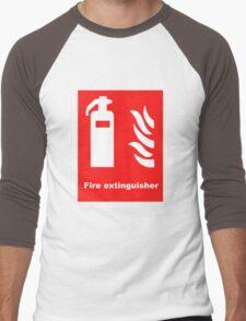 Fire Extinguisher Men's Baseball ¾ T-Shirt