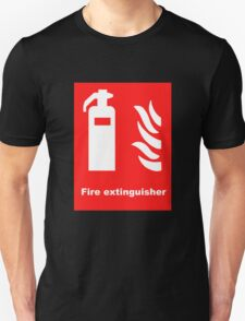 Fire Extinguisher Unisex T-Shirt