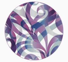 Floral abstract background Kids Clothes