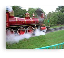 Disney World Steam Train Metal Print