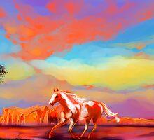 Running Red by sandpaperdaisy