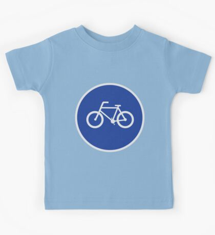 Bicycling Route Kids Tee