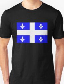 Flag of Quebec, Canada T-Shirt