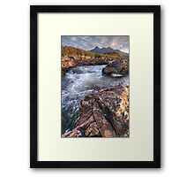 River Sligachan Framed Print