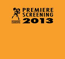 Saskatchewan Filmpool Cooperative Premiere Screening 2013 Unisex T-Shirt