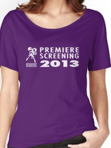 Saskatchewan Filmpool Cooperative Premiere Screening 2013 Women's Relaxed Fit T-Shirt
