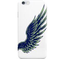 Wing Blue iPhone Case/Skin