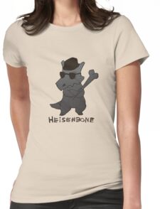 Heisenbone - Cool Gray Womens Fitted T-Shirt