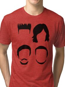 Bastille Hair Design with Dan Will Kyle and Woody Tri-blend T-Shirt