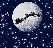 Father Christmas on Christmas Eve by Joe Bolingbroke