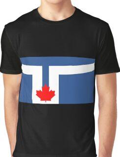 Flag of Toronto, Canada Graphic T-Shirt