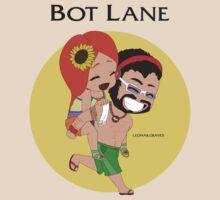 Leona & Graves - Bot Lane by Aveleen