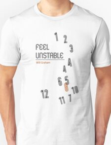 Hannibal book covers: Feel Unstable - Will Graham T-Shirt