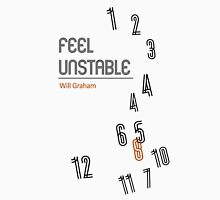 Hannibal book covers: Feel Unstable - Will Graham Unisex T-Shirt