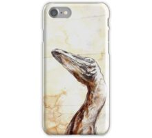 troodon phone iPhone Case/Skin
