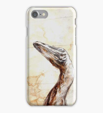 troodon phone iPhone Case/Skin