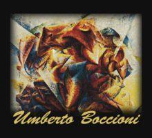 Boccioni - Dynamism of Soccer by William Martin