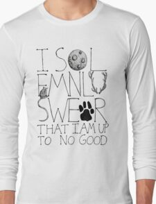 I Solemnly Swear... Long Sleeve T-Shirt