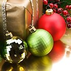 Christmas Balls to Decorate with. by Ann Warrenton
