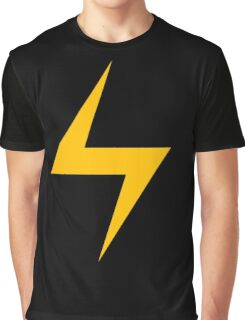Lightning Bolt Logo Emblem Graphic T-Shirt