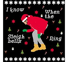 I Know When The Sleigh Bells Ring Photographic Print