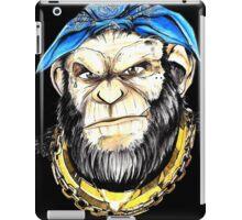 gangster chimp iPad Case/Skin