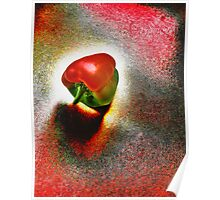 I Vote For a Really Hot Sweet Pepper  Poster