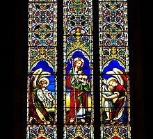 Stained Glass Window - St Peter's Cathedral, Adelaide by TonyCrehan