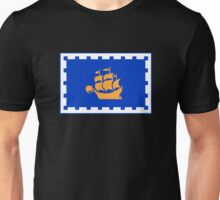 Flag of the City of Quebec Unisex T-Shirt