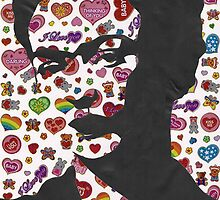 Frida Kahlo Stickers Prints  by georgiagraceart