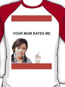 Your Mum Rates Me - Community Channel/Natalie Tran tshirt T-Shirt