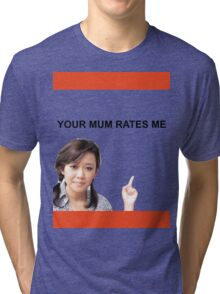 Your Mum Rates Me - Community Channel/Natalie Tran tshirt Tri-blend T-Shirt