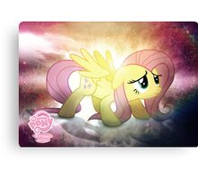 Fluttershy is Best Pony Canvas Print