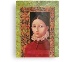 Renaissance Girl Metal Print