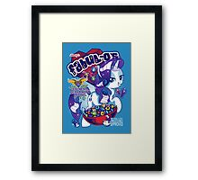 FABULOS - Opalescence Approved! Framed Print