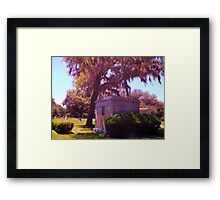 Leaning Towards Eternity Artistic Photograph by Shannon Sears Framed Print