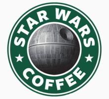 Star Wars Coffee (Death Star) by GeekyArt
