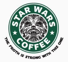 Star Wars Coffee (Chewbacca) by GeekyArt