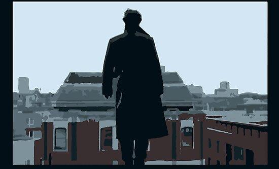 Reichenbach Fall by ivoryt0wer