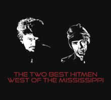 The two best hitmen west of Mississipi - red by Théo Proupain