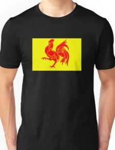 Walloon Rooster Unisex T-Shirt
