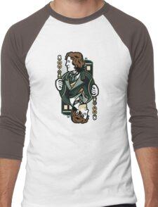8th of Hearts Men's Baseball ¾ T-Shirt