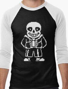 Sans Undertale T-Shirt Men's Baseball ¾ T-Shirt