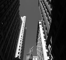 New York City Downtown by Frank Romeo