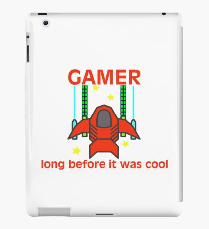 Gamer Before It Was Cool Retro Style iPad Case/Skin