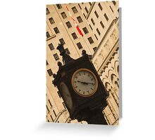 Downtown Time ©  Greeting Card